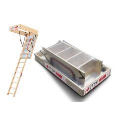Schody strychowe | Schody Strychowe EXTRA 46mm,120x70 70x120 +GRATIS! - image | marSELL24.eu