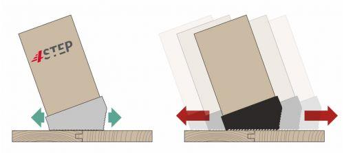 Schody strychowe   Schody Strychowe EXTRA 46 mm,130x80 80x130 PORĘCZ - image 7   marSELL24.eu