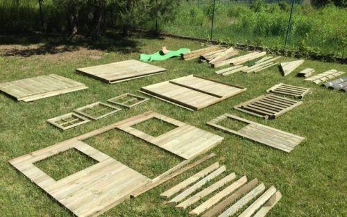 Domki do ogrodu | Drewniany Domek Ogrodowy dla Dzieci TOMEK + ŚLIZG - image 7 | marSELL24.eu