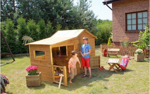 Domki do ogrodu | Drewniany Domek Ogrodowy dla Dzieci ELA od 4iQ - image 2 | marSELL24.eu