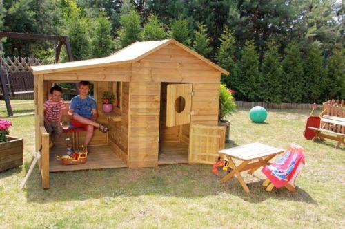 Domki do ogrodu | Drewniany Domek Ogrodowy dla Dzieci ELA od 4iQ - image 3 | marSELL24.eu