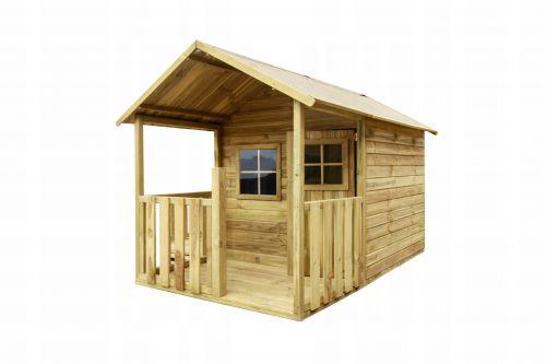 Domki   BLANKA Drewniany Domek Ogrodowy Dla Dzieci od 4iQ - image   marSELL24.eu