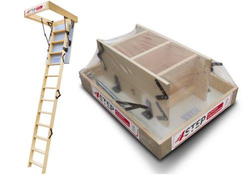 Schody strychowe   Schody Strychowe 4STEP: EXTRA 46mm, 90x60 60x90 - image   marSELL24.eu
