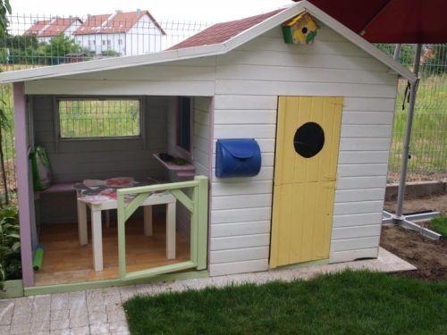Domki do ogrodu | Drewniany Domek Ogrodowy dla Dzieci ELA od 4iQ - image 6 | marSELL24.eu