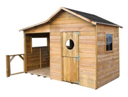 Domki do ogrodu | Drewniany Domek Ogrodowy dla Dzieci ELA od 4iQ - image 11 | marSELL24.eu