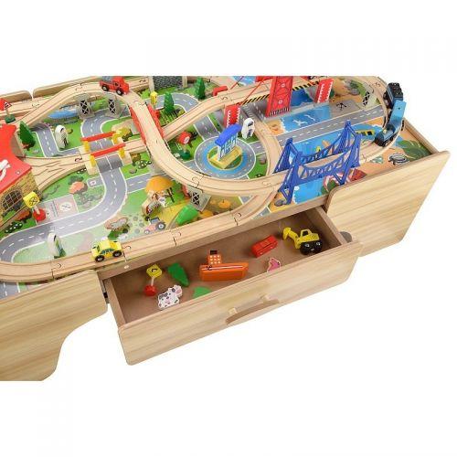 Zabawki | Kolejka Tomek - zestaw drewniany - image 2 | marSELL24.eu