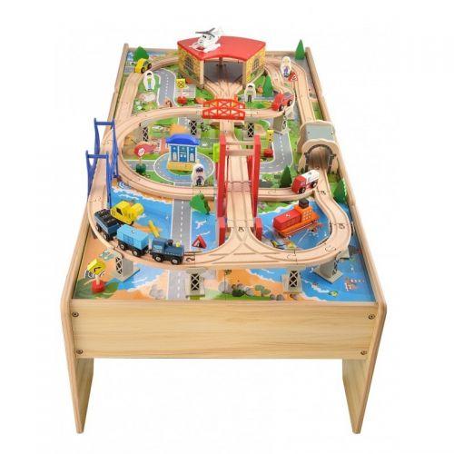 Zabawki | Kolejka Tomek - zestaw drewniany - image 3 | marSELL24.eu