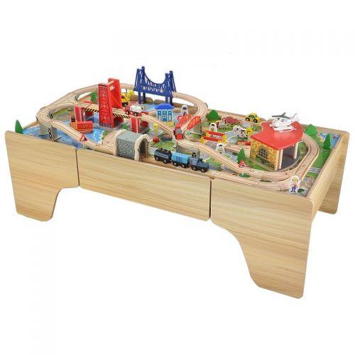 Zabawki | Kolejka Tomek - zestaw drewniany - image 4 | marSELL24.eu