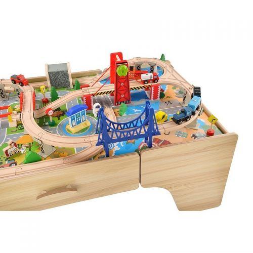 Zabawki | Kolejka Tomek - zestaw drewniany - image 5 | marSELL24.eu